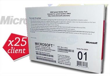 25cals 64 bits DVD OEM Package Microsoft Windows Sever 2008 R2 Enterprise windows sever R2 enterprise 25 users software
